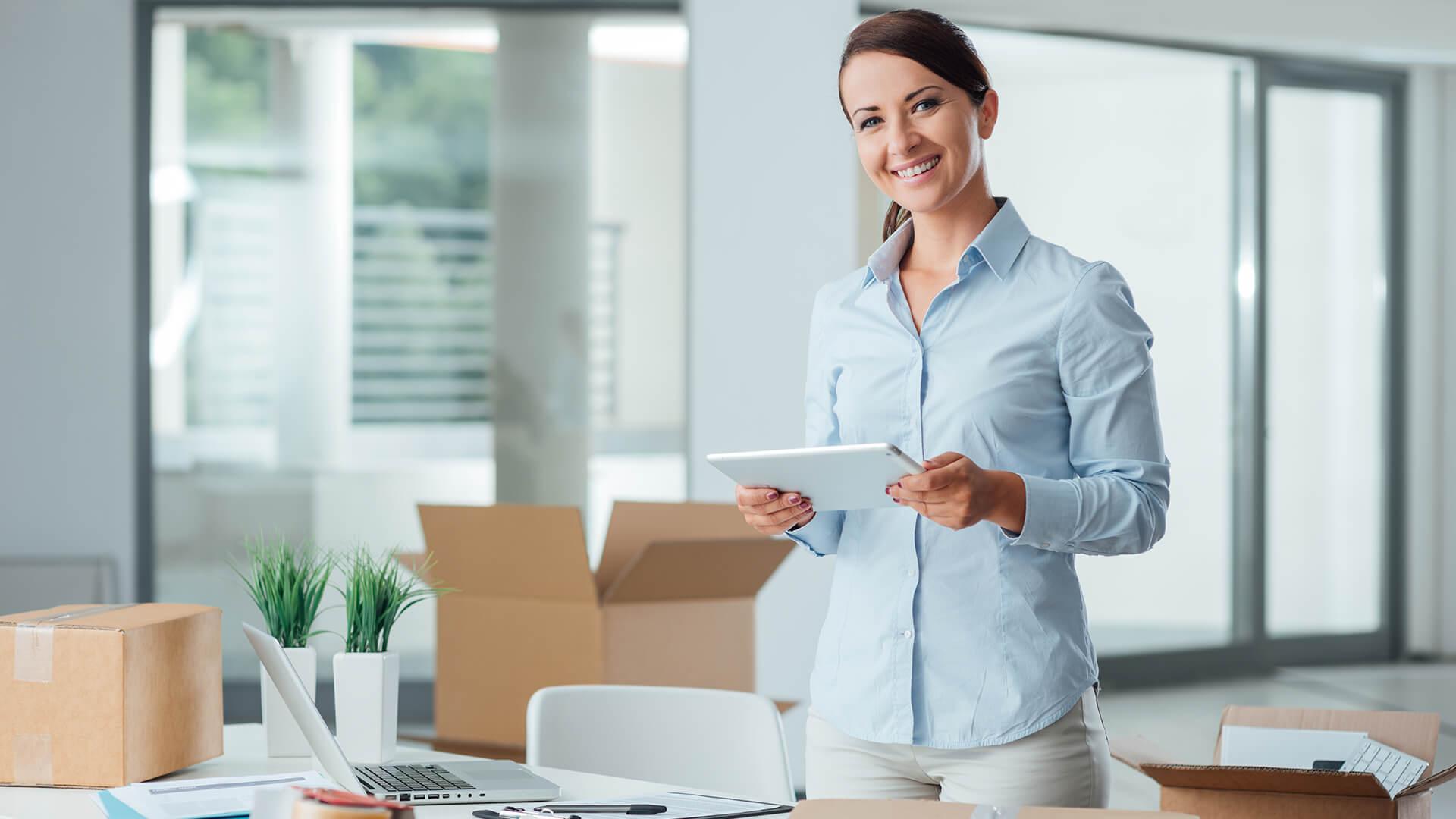 commercial relocations in Dallas. Monarca Movers